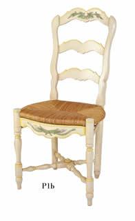 chaises proven ales peintes table de lit. Black Bedroom Furniture Sets. Home Design Ideas