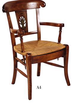 chaises proven ales chaises lacroix collection alpilles. Black Bedroom Furniture Sets. Home Design Ideas